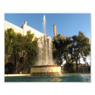 Fonte refrigerar de água de Pasadena Impressão Fotográficas