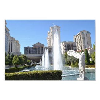 Fontes na tira Las Vegas Arte De Fotos