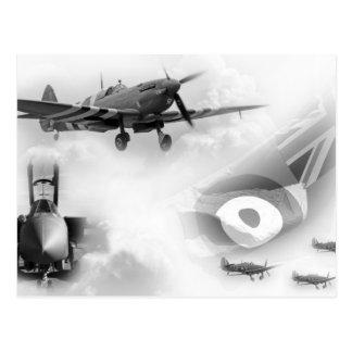 Força aérea britânica comemorativa cartão postal