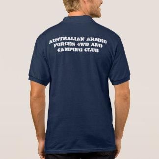 FORÇAS ARMADAS 4WD do AUSTRALIANO E CAMISA de T-shirt Polo