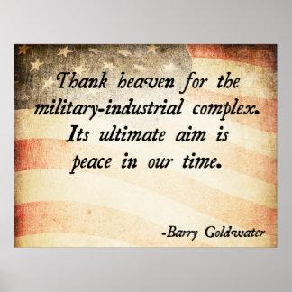 Forças armadas de Barry Goldwater Posteres