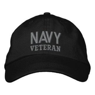 Forças armadas do veterano do marinho boné