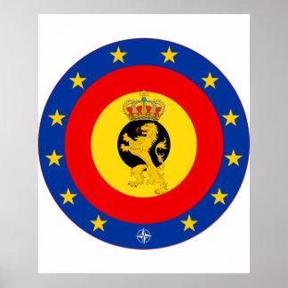 Forças militares de Bélgica, Bélgica Pôster