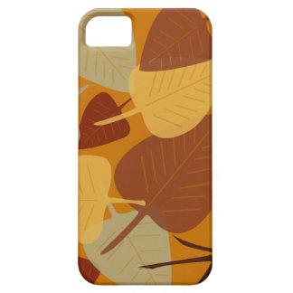 Forma dispersada moderna da queda do outono do ram capas iPhone 5 Case-Mate