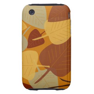 Forma dispersada moderna da queda do outono do ram capas fortes de iPhone 3