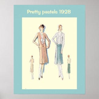 Forma histórica 1928 pôsteres