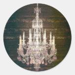 forma roxa de Paris do candelabro do barnwood do Adesivo
