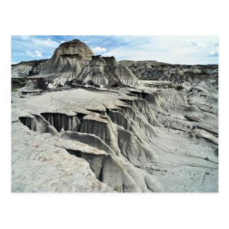 Formação da erosão do deserto, parque provincial cartão postal