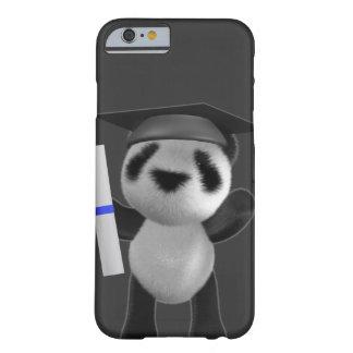 formando da panda do bebê 3d (editável) capa iPhone 6 barely there