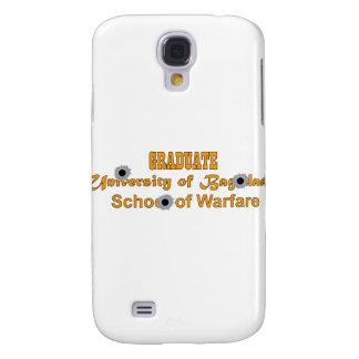 Formando-Universidade do Bagdade-School da guerra Capa Samsung Galaxy S4