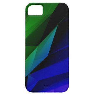Formas geométricas escuras capa para iPhone 5
