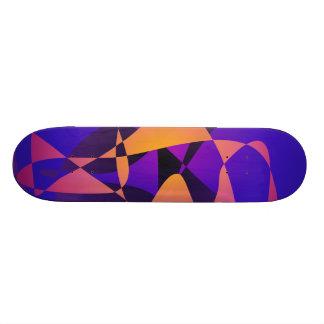 Fornalha roxa shape de skate 18,4cm