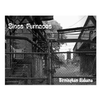 Fornalhas de Birmingham Sloss Cartão Postal