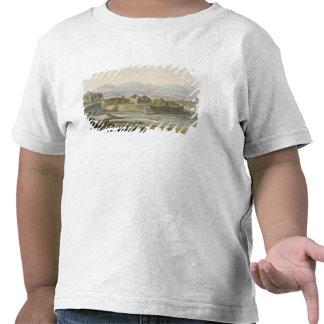 Fortaleza circular de Cannar, Peru, 'do traje do T-shirt