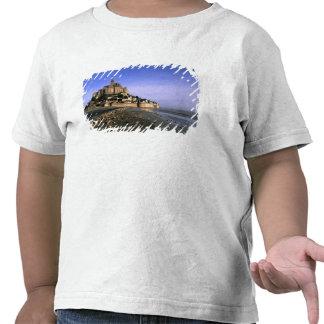 Fortaleza da ilha do St. Michel de Famoso Le Mont T-shirt