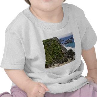 Fortaleza da montanha da praia camiseta
