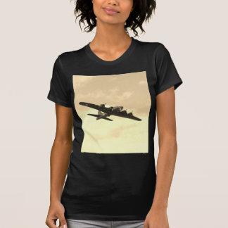 Fortaleza do vôo em vôo camisetas