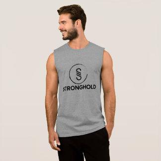 Fortaleza (logotipo preto) camisa sem manga