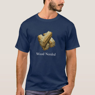 Fortaleza - necessário de madeira - azul escuro tshirt