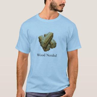 Fortaleza - necessário de madeira - luz - azul camiseta