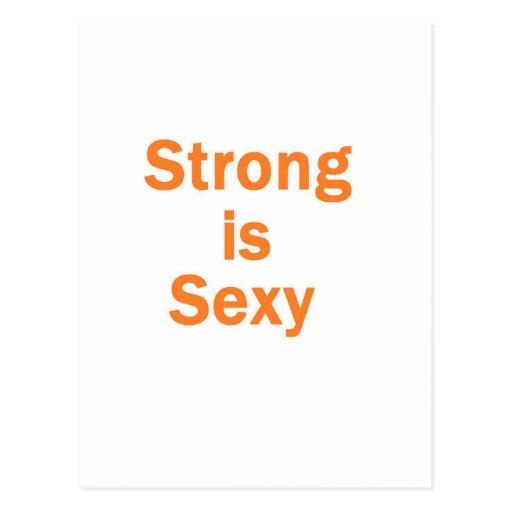 """Forte é a laranja """"sexy"""" cartões postais"""