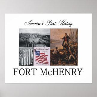 Forte McHenry de ABH Pôster