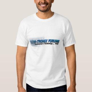 Fóruns de Tronix da tecnologia T-shirts