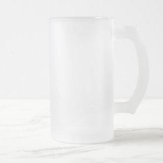 Fosco caneca de cerveja do vidro de fosco de 16