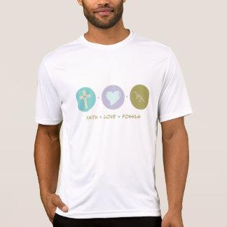 Fósseis do amor da fé camisetas