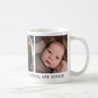 Foto 3 com mensagem pessoal caneca de café