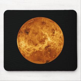 Foto a cores completo do espaço do planeta Venus Mouse Pad