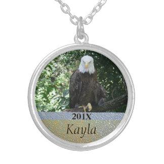 Foto americana dos animais selvagens da águia amer bijuteria personalizada