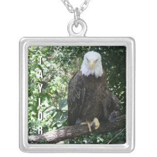Foto americana dos animais selvagens da águia amer bijuterias personalizadas