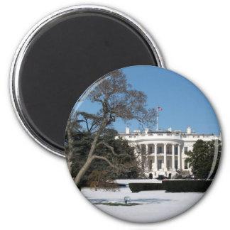 Foto branca da casa imãs