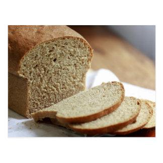 Foto cortada do pão cartão postal