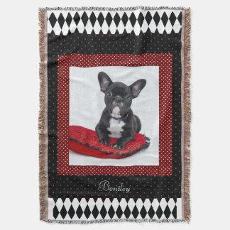 Foto customizável do animal de estimação do cão coberta
