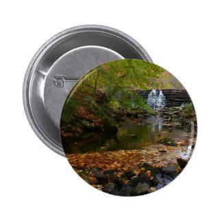 Foto da cachoeira da queda e da natureza de bóton redondo 5.08cm