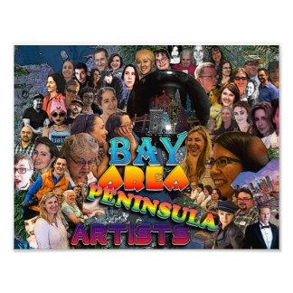 Foto da colagem do grupo da equipe de BAPA Impressão De Foto