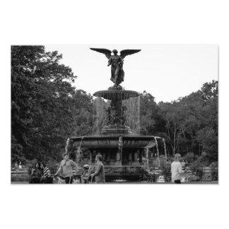 Foto da fonte de Bethesda, Central Park