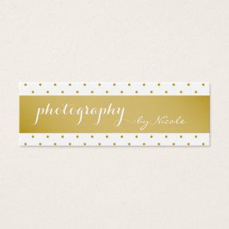 Foto da fotografia do casamento cartão de visitas mini