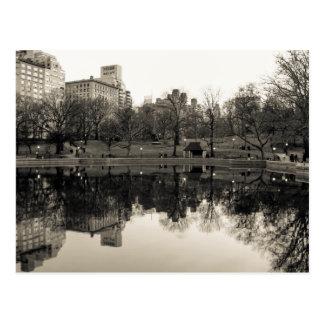 Foto da paisagem do Central Park Cartão Postal