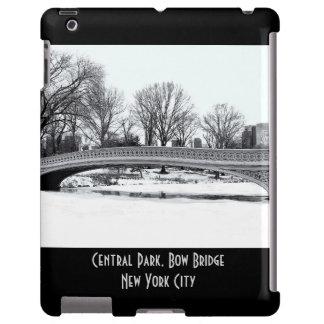 Foto da ponte do arco de Central Park Capa Para iPad