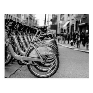 Foto da rua da Nova Iorque Cartão Postal