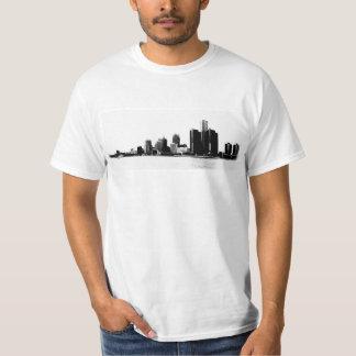 Foto da skyline de Detroit Tshirt