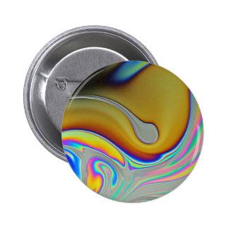 Foto da superfície da bolha de sabão boton