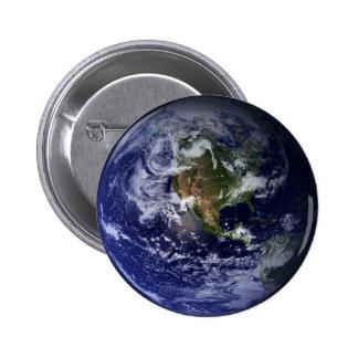 Foto do espaço da terra do planeta bóton redondo 5.08cm
