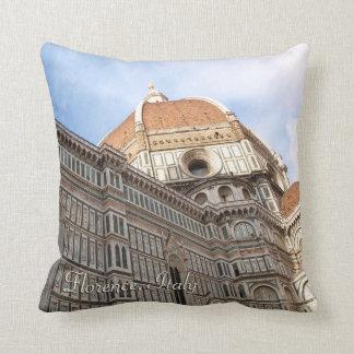 Foto do feriado do domo de Florença Italia Travesseiro
