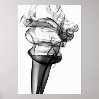 Foto do fumo poster