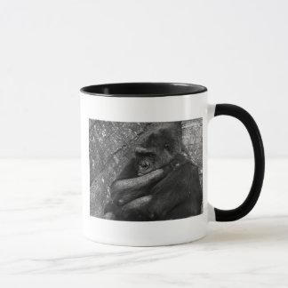 Foto do gorila caneca