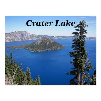 Foto do parque nacional do lago crater cartão postal